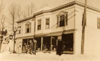 Aaron Anderson's General Store, New Sweden, ca. 1930