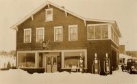 Soderberg's General Store, New Sweden, ca. 1930