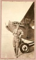Harry Jones and his Curtiss JN-4C