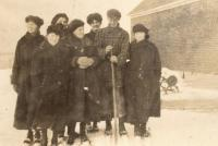 Ready for a Day of Skiing, New Sweden, 1931