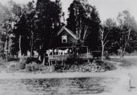 Camp on Madawaska Lake, T16R4,  c. 1920
