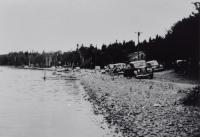 Shore Line at Madawaska Lake,  c. 1930