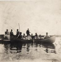 Madawaska Lake boating Party, T16R4, c. 1910