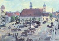 Town Market, Finsterwalde, Germany