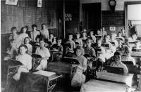 Excelsior School second grade, Brewer, ca. 1913