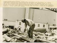 Welder, sugar beet refinery, Easton, 1980