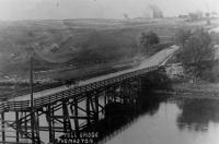 Toll Bridge, Thomaston, 1915