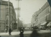 Middle Street near Temple Street, Portland, ca. 1900