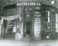 Boston Loan Co., Portland, ca. 1928
