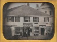Daniel Fox building, Portland, ca. 1850