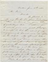 Horace Mann to Josiah Pierce, 1841