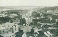 View toward Portland waterfront, 1911