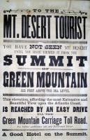 Green Mountain Advertisement