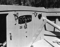Instrument Panel on 38' Buoy Boat, ca. 1943