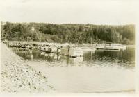 Boats at Northeast Harbor, ca. 1955