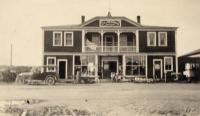 Carl M. Johnson's store, Woodland, ca. 1922