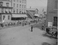 Calais Street Railway Construction, Calais, 1894