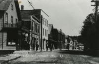 Lower Main Street, Northeast Habor, ca. 1905