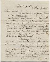 Thomas Davee to Josiah Pierce, 1837