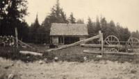 Barnyard in Woodland, ca 1922
