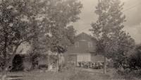 Otto Neilander farm, Woodland, ca.1922