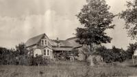 Olof O. Nylander farm, Woodland, ca. 1922