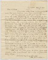 Hannibal Hamlin to Josiah Pierce, 1836