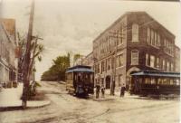 Calais Street Railway cars, Calais, ca. 1900