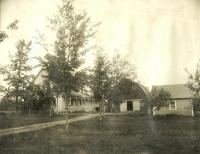 August Erickson farm, Perham, ca. 1922