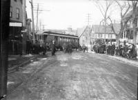 Trolley Accident on Washington Street, Sanford, ca. 1910