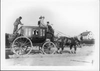 Higgins Stage Coach, Camden, ca. 1880