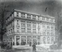 Architectual Drawing, Sanford Trust Company, Sanford