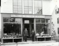 G. W. Huff's Store, Main Street, Sanford, ca. 1910