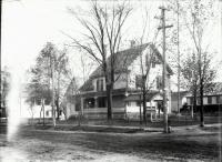 Edward K. Bennett Home, School Street, Sanford, ca. 1915