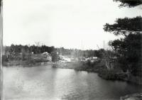 Dam construction, Sanford, 1906