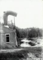 Power Station, Old Falls Dam, Sanford ca. 1908