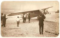 'Pathfinder' arriving, Old Orchard Beach, 1929