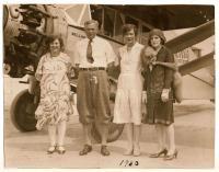 Harry M. Jones and passengers, 1930