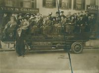 South Portland High School trip, ca. 1910