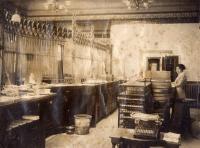 Aroostook Trust Company interior, Caribou, ca. 1922