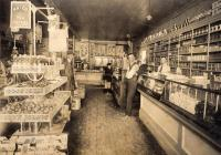 Michaud Grocery store, Caribou, ca. 1922