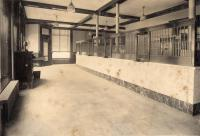 Caribou National Bank, lobby, ca. 1922