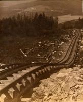 Train Tracks Going up Green Mountain