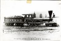 H. N. Jose locomotive, Portland, ca. 1880