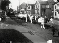 Parade, Washington Street, Sanford, ca 1915