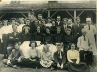 Jordan Pond House staff, ca. 1910