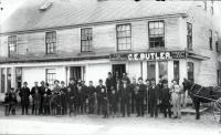 Butler Block, Bridge Street, Springvale, ca. 1888