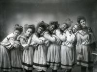 Sanford Mills Girls Basketball Team, 1904