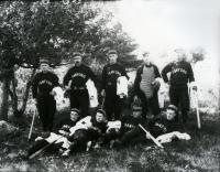 Sanford Baseball Team, ca. 1891