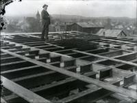 Sanford Trust Company construction, 1917